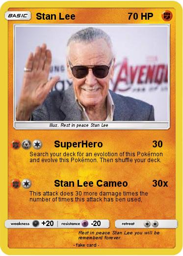 Pokemon Stan Lee
