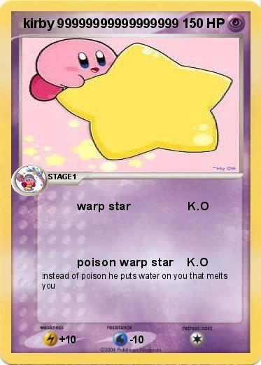 Pokemon  kirby 99999999999999999