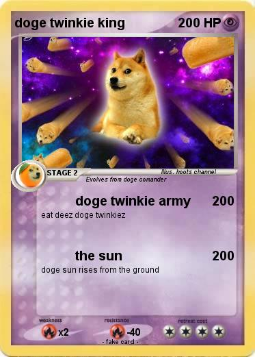 Pokemon doge twinkie king