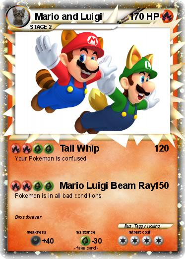 Pokemon Mario and Luigi