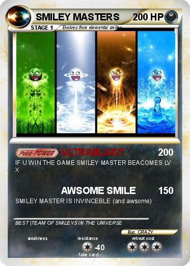 Pokemon SMILEY MASTERS