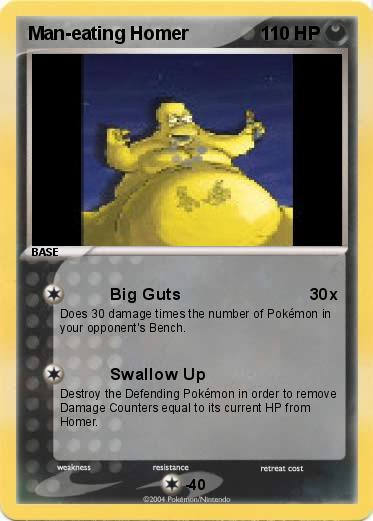 Pokemon Man-eating Homer