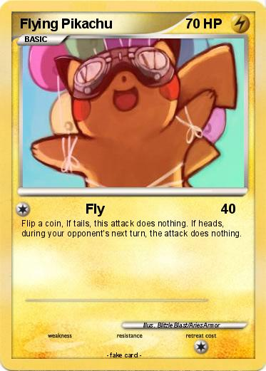 Pokemon Flying Pikachu