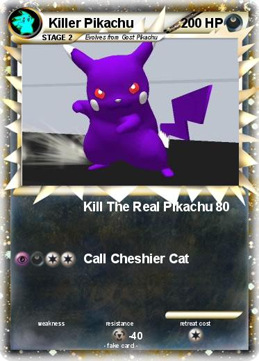 Pokemon Killer Pikachu