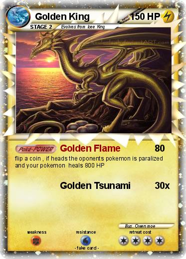 Pokemon Golden King