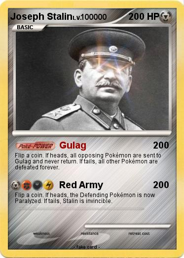 Pokemon Joseph Stalin