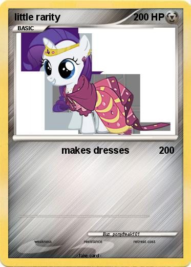 Pokemon little rarity