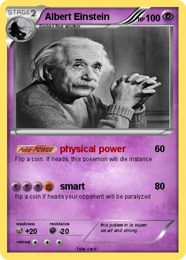 Pokemon Albert Einstein