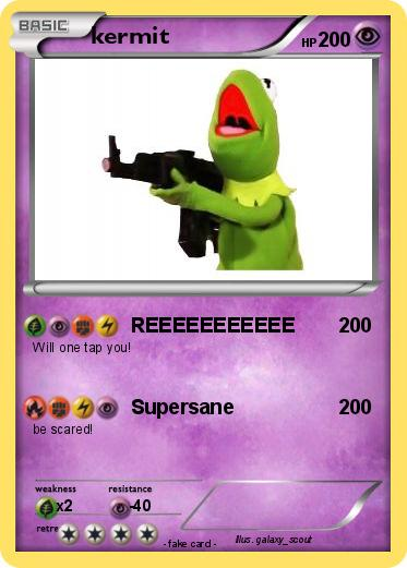 Pokemon kermit