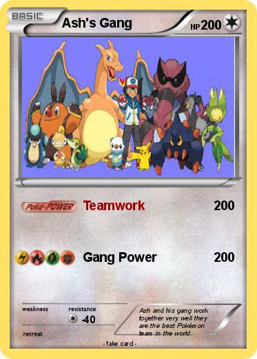 Pokemon Ash's Gang