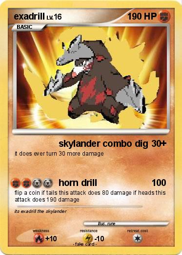 Pokemon exadrill