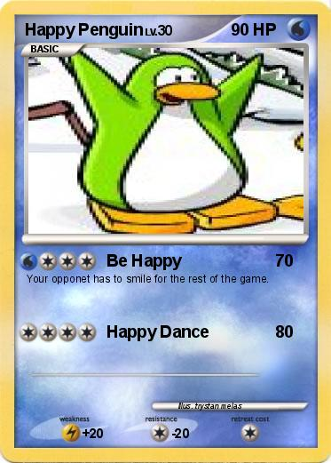 Pokemon Happy Penguin