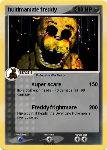 Pokemon hultimamate freddy