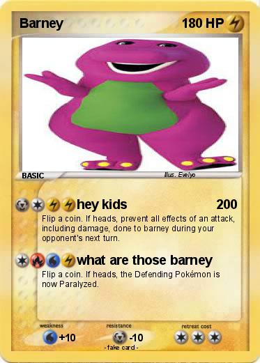Pokemon Barney