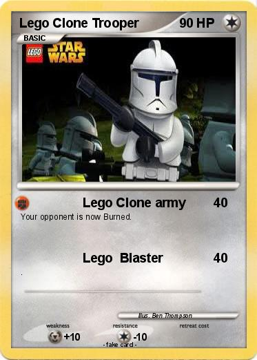 Pokemon Lego Clone Trooper