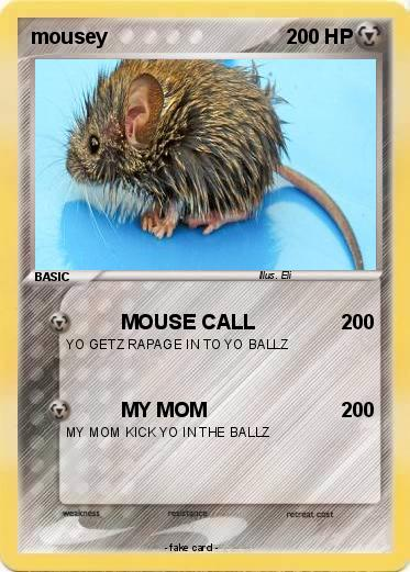 Pokemon mousey