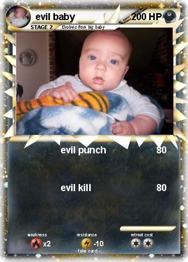 Pokemon evil baby