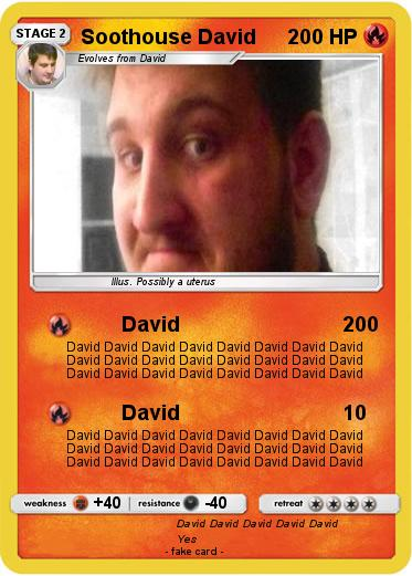 Pokemon Soothouse David