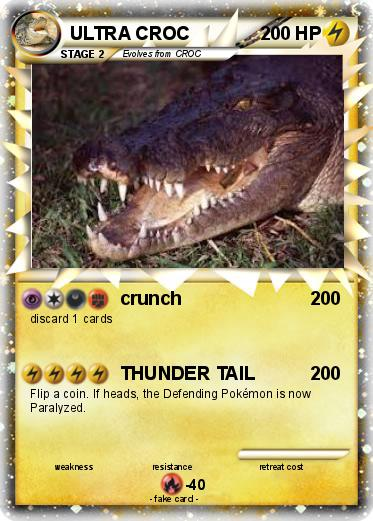 Pokemon ULTRA CROC