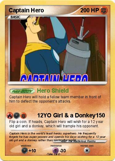 Pokemon Captain Hero