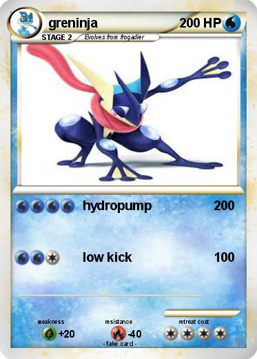 Pokemon greninja
