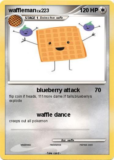 Pokemon waffleman