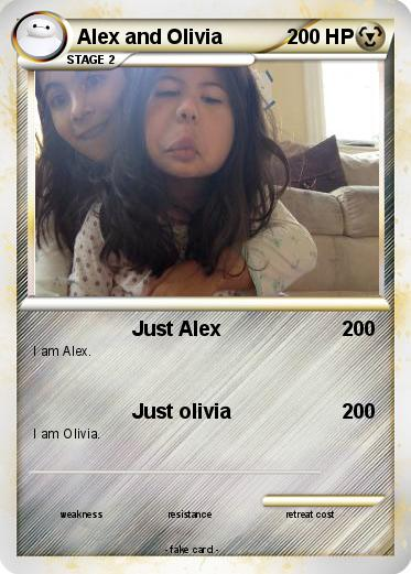Pokemon Alex and Olivia