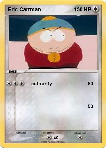 Pokemon Eric Cartman