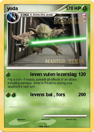 Pokemon yoda