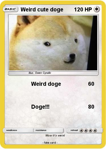 Pokemon Weird cute doge
