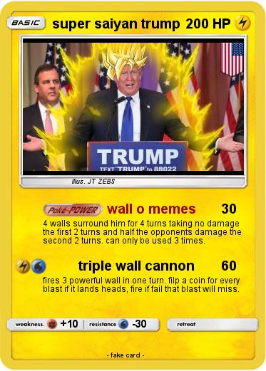 Pokemon super saiyan trump