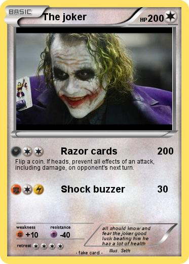 Pokemon The joker