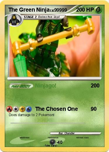 Pokemon The Green Ninja