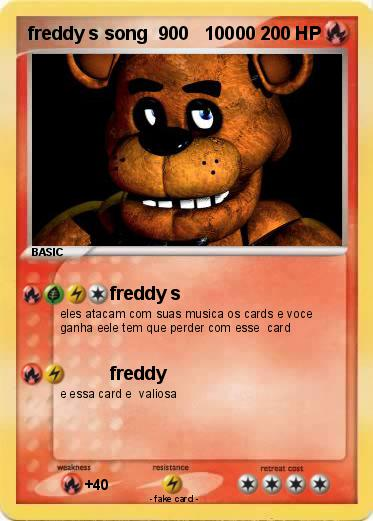 Pokemon freddy s song  900   10000