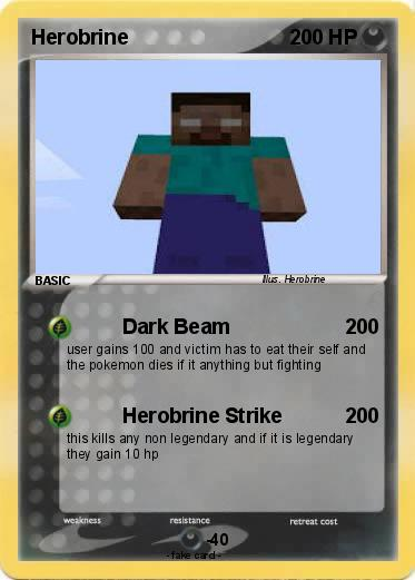 Pokemon Herobrine