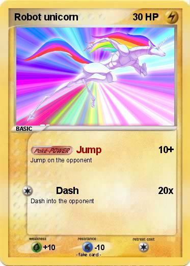 Pokemon Robot unicorn