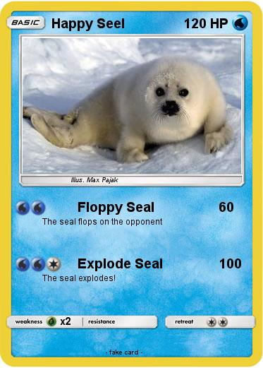 Pokemon Happy Seel