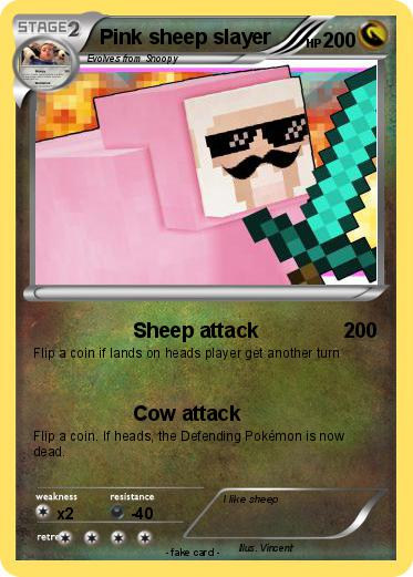 Pokemon Pink sheep slayer