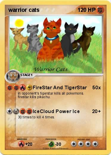 Pokemon warrior cats