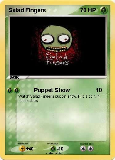 Pokemon Salad Fingers