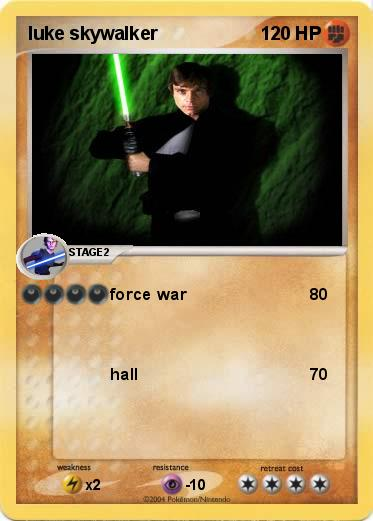 Pokemon luke skywalker