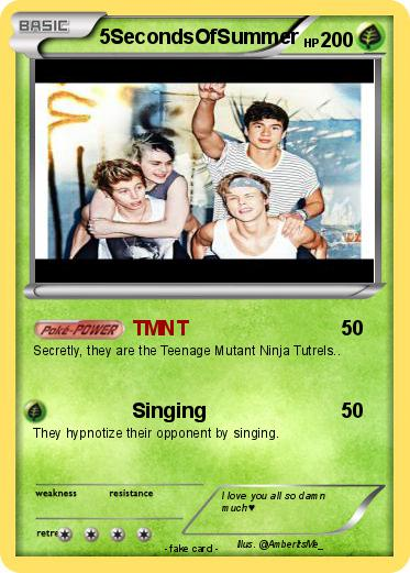 Pokemon 5SecondsOfSummer