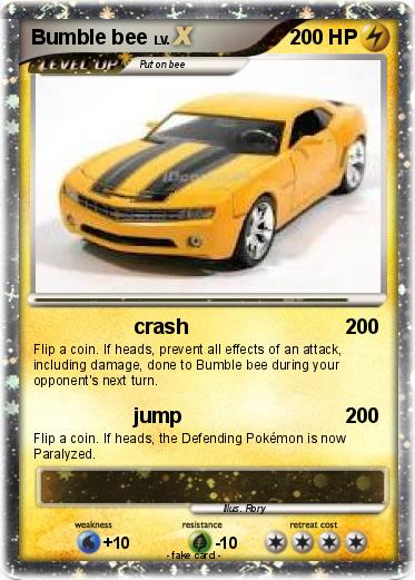 Pokemon Bumble bee