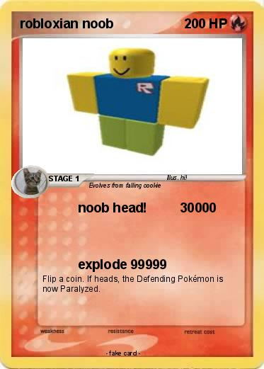 Pokemon robloxian noob