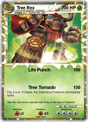 Pokemon Tree Rex