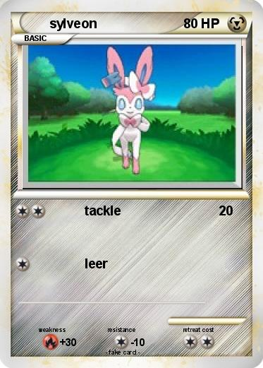 Pokemon sylveon