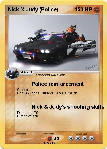 Pokemon Nick X Judy (Police)