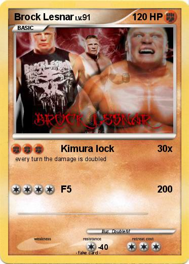 Pokemon Brock Lesnar