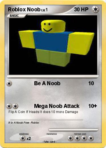 Pokemon Roblox Noob