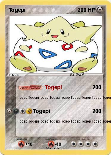 Pokemon Togepi
